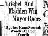 Triebel and Madden Win Mayor Races