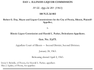 Day v. Illinois Liquor Commission