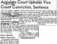 Appelate Court Upholds Vice Count Conviction