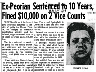 Ex-Peorian Sentenced to 10 years, Fined $10,000