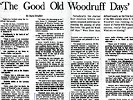 'The Good Old Woodruff Days'