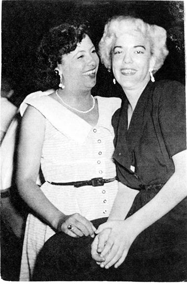 Ann Pryor and Friend