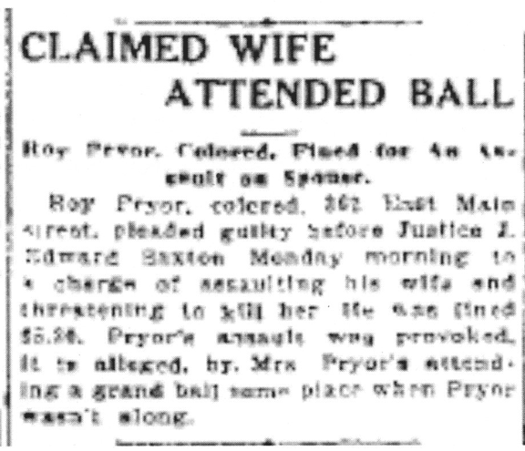 Claimed Wife Attended Ball