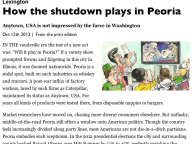 How the Shutdown Plays in Peoria