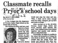 Classmate Recalls Pryor's School Days
