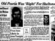 Old Peoria Was 'Right' for Sheltons…