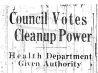 Council Votes Cleanup Power