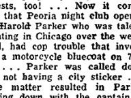 "Harold Parker Resolves His ""Cop Trouble"""