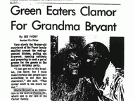 Green Eaters Clamor For Grandma Bryant